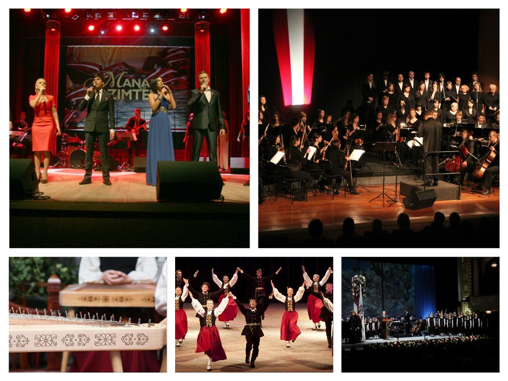 valsts svetku koncerti